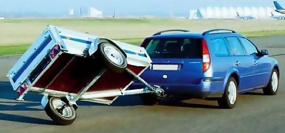 С какой скоростью можно ехать с прицепом на легковом автомобиле